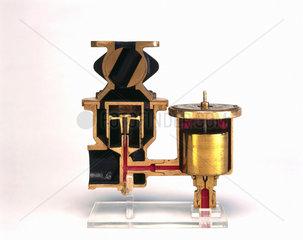 Scott-Robinson automatic carburettor  1911.