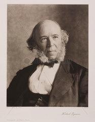 Herbert Spencer  English social philosopher  1870.