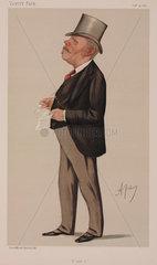Thomas Sutherland  British shipping magnate  1887.