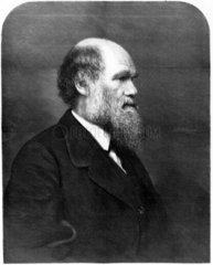 Charles Darwin  English naturalist  1871.