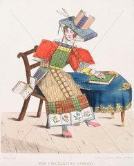 'The Circulating Library'  1830.
