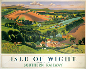 'Isle of Wight' SR poster  1946.