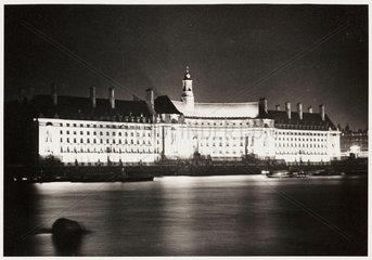 County Hall  London  1937.