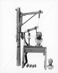 Machine for reproducing sculpture  1826.