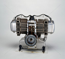 Wooler motorcycle engine  1950.