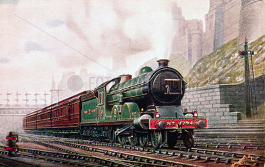 North Eastern Railway 4-4-2 locomotive no 794  c 1905.