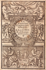 Frontispiece of an alchemy book  1657.