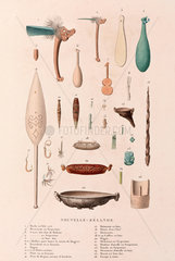Artifacts from New Zealand  1822-1825.