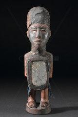 Wooden statue  Congo.
