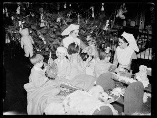 Hospital Christmas party  1937.