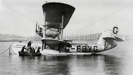 Short Brothers S8 'Calcutta' flying boat  February 1928.