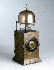 Lantern clock  Japanese  19th century.
