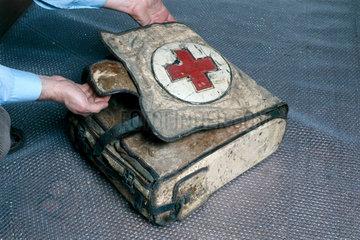 A World War 1 medical pack  German  1915-1918.