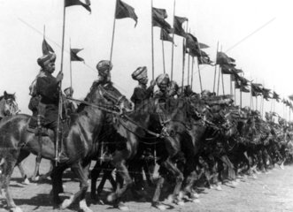 Indian cavalry division  Middle East  WWI.