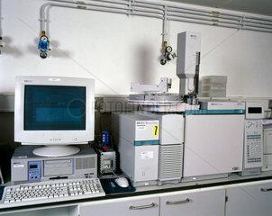 Gas chromatography mass-spectrometer  2000.