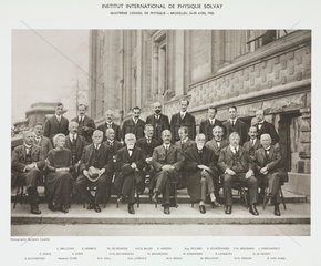 Fourth Solvay Physics Conference  Brussels  1924.