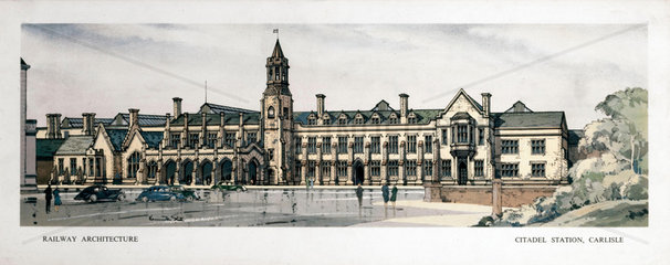 'Citadel Station  Carlisle'  1950-1955.