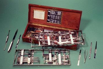 Aseptic surgical set  English  1917.