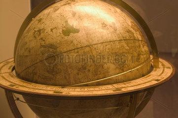 Celestial globe  Science Museum  London  2007.