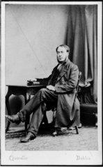 George Salmon  Irish mathematician and theologian  late 19th century.