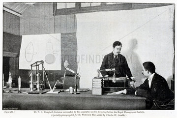 Alan Archibald Campbell Swinton  Scottish electrical engineer  1896.