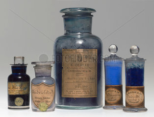 Synthetic colorants  c 1900.
