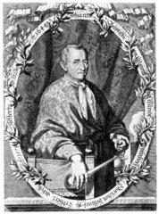 Joannes Baptiste van Helmont  Belgian chemist and physician  c 1630s.