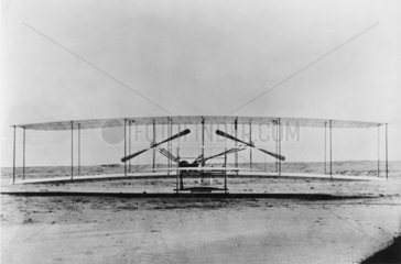 Wright Brothers aircraft 'Flyer'  1903.
