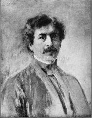 Sir Jagadis C Bose  Indian physicist and botanist  1907.