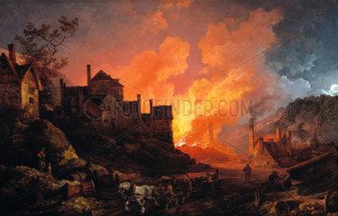 'Coalbrookdale by Night'  1801.