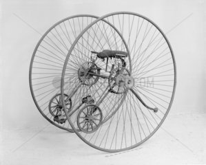 Otto dicycle  1881. Otto dicycle made by th