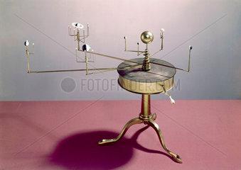 Drum model brass orrery  1781-1795.