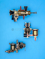 Group of carburettors  early 20th century.