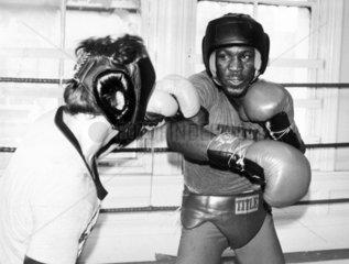 Maurice Hope  British boxer  July 1980.