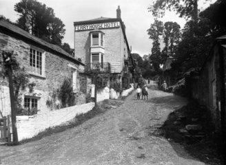 Bodinnick  Cornwall  1922.