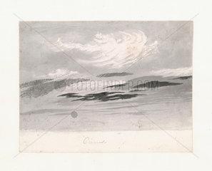 Light cirro-cumulus beneath cirrus  1803-1811.