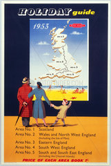'Holiday Guide'  BR poster  1953.