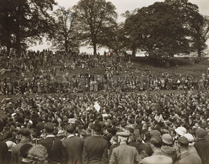 The Kent rally of Out Door Folk  Maidstone  26 May 1935.