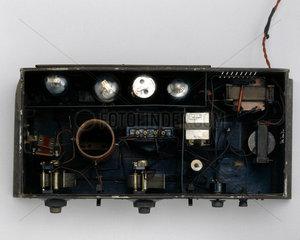 Ekco 'Mains Drive'  three-valve radio receiver  1929.