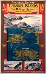 'Channel Islands - The Holiday Elysium'  SR.