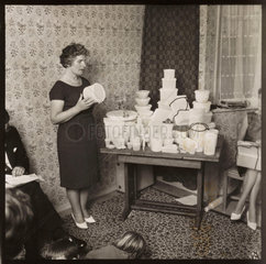 Tupperware party  1963.