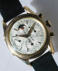 'Tri-Compax' calendar chronograph wristwatch  c 1955-1960.