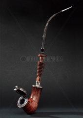 Meerschaum tobacco pipe  Bavarian  1790-1840.