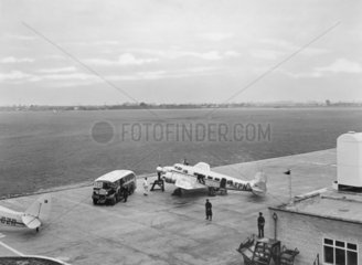 British Airways Lockheed Electra 10A  G-AEP