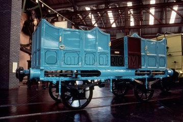 Third class open carriage  1830. The origin