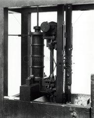 Single action pumping engine  Watt model.