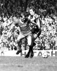 Liverpool's Kenny Dalglish  17 April 1982.