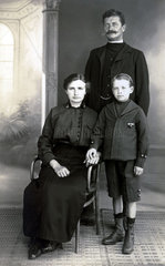 Family portrait  early 20th century.