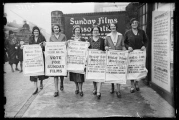 Sunday Films Association  1932