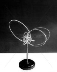 Model of an aluminium atom according to the